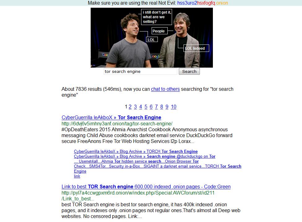 Découverte du Dark Web, 3/10 : Les moteurs de recherche TOR « Aleph